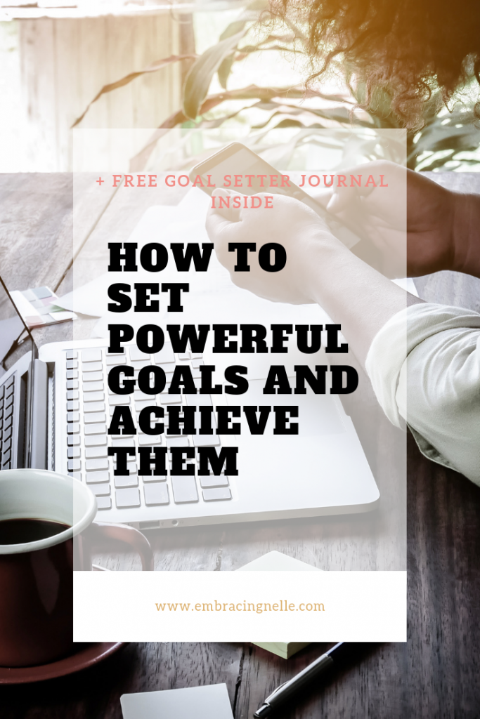 How To Set Powerful Goals and Achieve Them