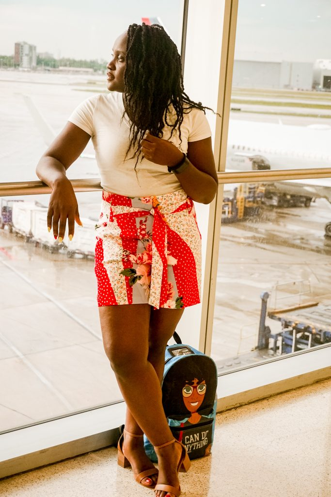 New York and Company Monthly Style Challenge: Airport look #2