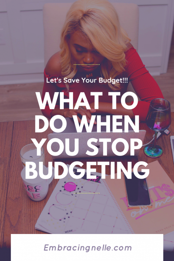 What To Do When You Stop BUdgeting