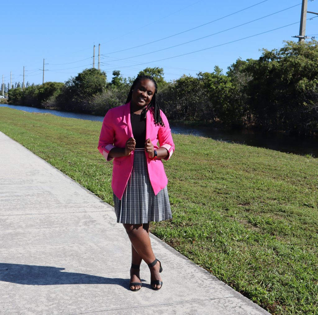 Hello Springs: Wearing That Pink Blazer